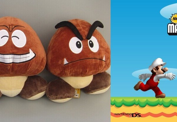 Mario Plush 5 Goomba Soft Stuffed Plush Toy Dealmoon