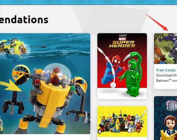 Free LEGO DC Comics Superheros Batman Comic Book Download - Dealmoon