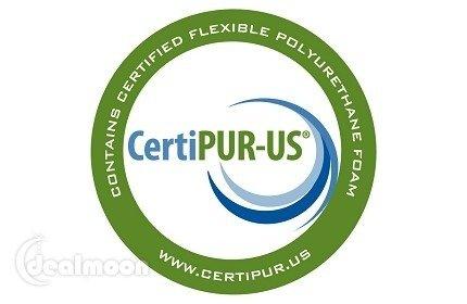 CertiPUR-US 记忆海绵认证标签