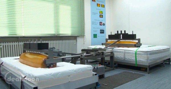 测试床垫耐用性