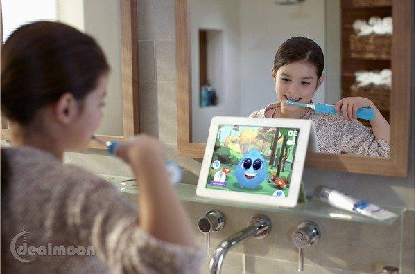 宝宝牙刷怎么选 Sonicare儿童电动牙刷
