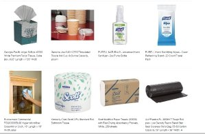 free amazon business breakroom and janitorial supplies sample box