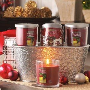 满$45减$20或满$100减$50Yankee Candle官网蜡烛、香薰等产品热卖