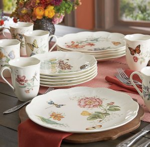$78.44Lenox Butterfly Meadow 18-Piece Dinnerware Set, Service for 6