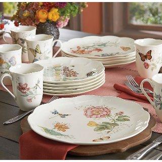 $78.44Lenox Butterfly Meadow 18-Piece Dinnerware Set, Service for 6