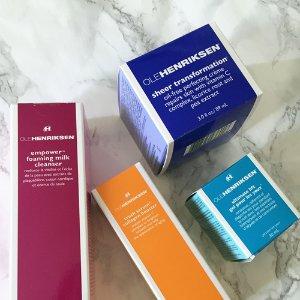 欧美药妆品牌北美众测君粉丝体验Ole Henriksen 护肤套装
