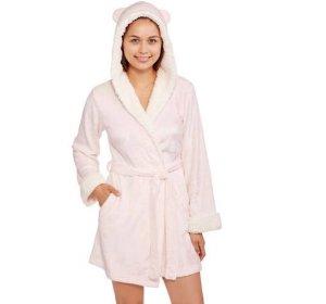 1b6b2611c3 Body Candy Juniors  Huggable Luxe Critter Ears Sleepwear Robe  5 ...