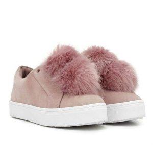 946550833f85 Sam Edelman Leya Pom Pom Sneaker  100 - Dealmoon