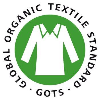 Global Organic Textile Standard 认证标签