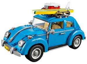 $99.99包邮+送伦敦巴士模型LEGO Creator 大众甲壳虫车模型