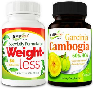 $67Weight Management Bundle [GMP Vitas® Weight Less, GMP Vitas® Garcinia Cambogia)