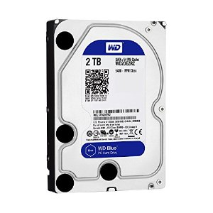 $19.99Western Digital Blue 2TB SATA 5400RPM 64MB OEM Hard Drive