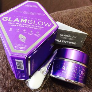 北美众测君粉丝体验GLAMGLOW发光面膜新品紫罐