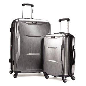 低至4折+免运 新秀丽 封面款2件套$159.99独家! JS Trunk & Co.精选行李箱包促销