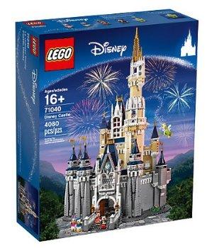 $349.99包邮乐高LEGO The Disney Castle 迪士尼城堡 71040 (4080块颗粒)
