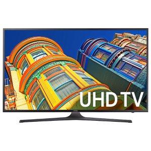 $549.99无税包邮!2016年款 Samsung 55吋 超薄 4K HDR 超高清 智能电视