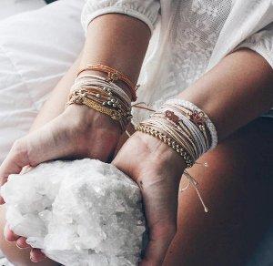 独家! 立享8折Pura Vida Bracelets 精选编织手链热卖