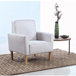$159.99起包邮sofamania精选单人沙发低价促销