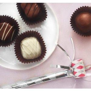满 $35 立减 $5See's Candies 全场促销,巧克力糖果及坚果零食热卖