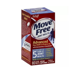 Move Free Glucosamine Chondroitin MSM Vitamin D3 and Hyaluronic Acid Joint Supplement