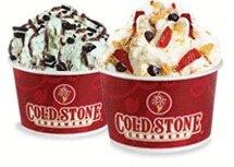 雪糕买一送一Cold Stone Creamery 雪糕店促销