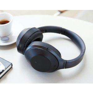 无税包邮!$323.00美国史低!SONY MDR-1000X 无线降噪耳机 双色可选