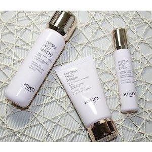皮肤保湿水润看得见!一分钱只能买到一分货?No! Kiko Hydro Pro护肤系列测评