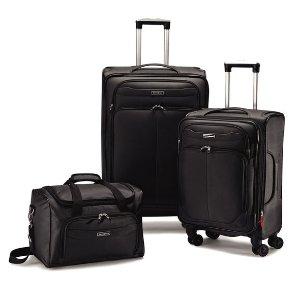 低至5折+免运 新秀丽封面款三件套$119.99 Omni三件套$219.99独家! JS Trunk & Co.精选行李箱包促销
