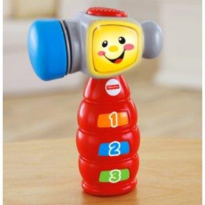 额外8折低至$3.2起,Fisher Price 费雪官网婴儿玩具限时促销