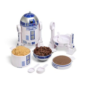 $5.99(原价$19.99)官方正版授权,星球大战R2-D2量杯套装