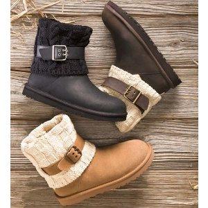 $66.75(原价$169.95)免邮!UGG女款针织雪地靴断码热卖