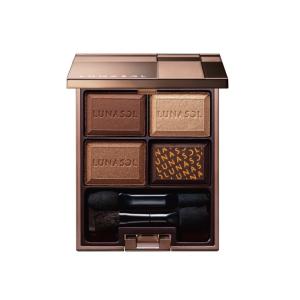 Lunasol 日月晶采净 四色眼影 02 Chocolat Amer