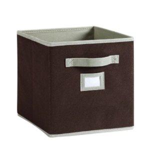 $2.99 (原价 $7)+包邮MARTHA STEWART LIVING™布质抽屉收纳盒, 色号:Burl