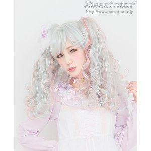 直邮中美!$53.63/RMB363二次元女主 cosplay必备 Sweet Star 潮流萌系妹纸 双马尾假发 特价