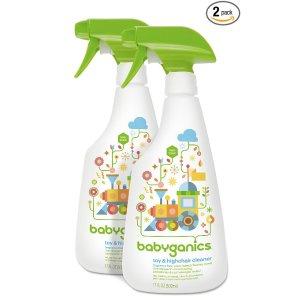 $7.98 凑单品!Babyganics 宝宝玩具、家居用品专用清洁喷雾 2瓶