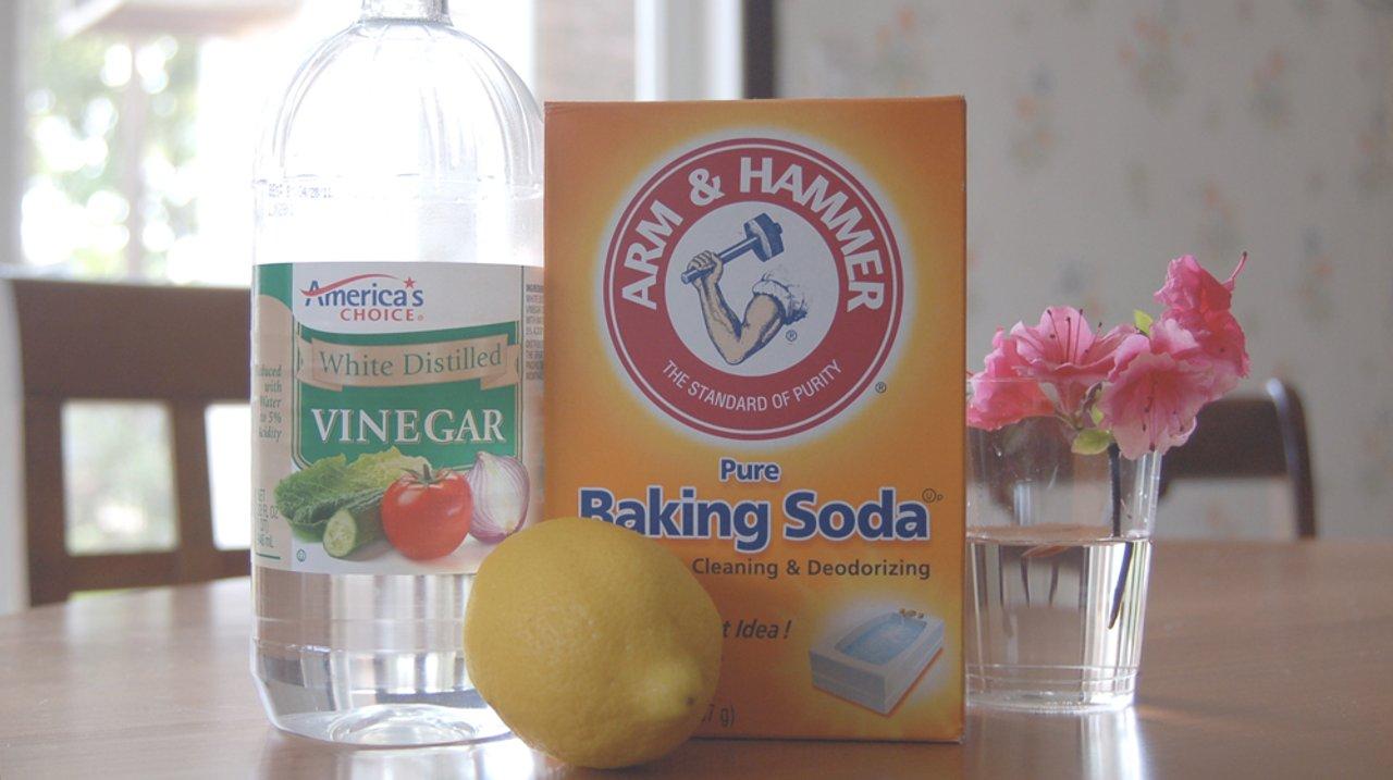 家居清洁好帮手:白醋、小苏打和干衣纸的生活妙用