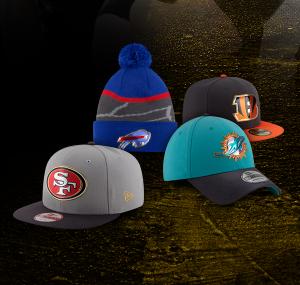 $10NFL Caps Sale @Lids.com
