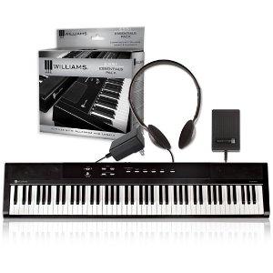 仅限今日(12月7日)!$149.99(原价$229.99)Williams Legato 电钢琴+配件限时特惠
