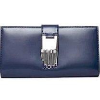 Misha Shiny Calf Wallet