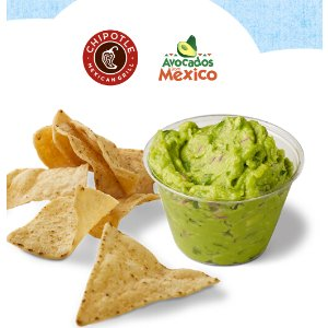 FREE Guacamole and Chips@ Chipotle