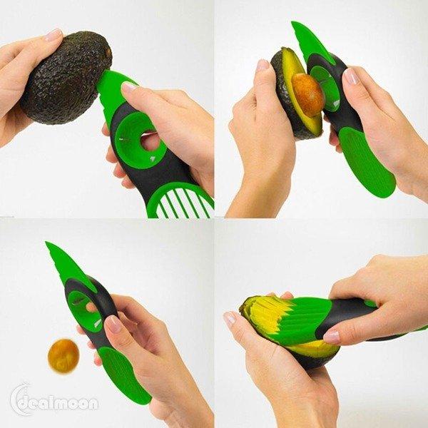3-in-1 Avocado Slicer 3合1牛油果去核切片神器