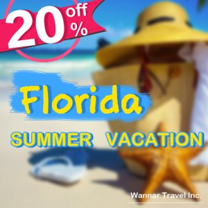 UP to 20% off FloridaTour packages sale @Wannar