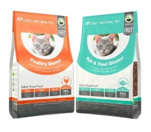 $0Only Natural Pet Grain Free Dry Cat Food, 1lb Trial Size