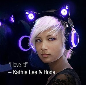 Dealmoon Exclusive! $99.99 (reg.$149.99)Cat Ear Headphones @ Brookstone