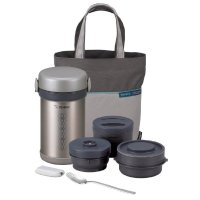 Zojirushi SL-NCE09 Ms. Bento Stainless-Steel Vacuum Lunch Jar: Lunch Box
