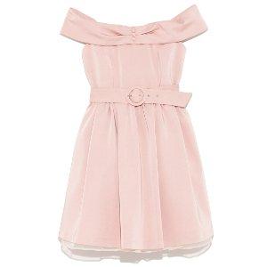 Lily Brown Barbie粉连衣裙