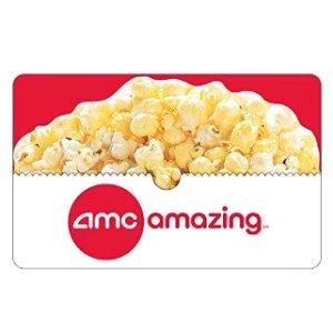 $13 半价收AMC 电子礼卡 面值$26