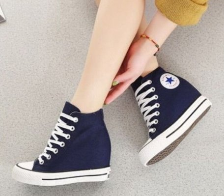 6b20d96675 CONVERSE CHUCK TAYLOR ALL STAR LUX WEDGE MID On Sale @ Nike.com $49.57 -  Dealmoon