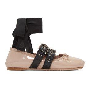 Miu Miu 芭蕾舞平底鞋