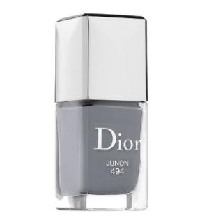Dior 494灰色指甲油